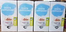 32 TASSIMO COSTA CAPPUCCHINO MILK  T-DISC NEW IN  BOX