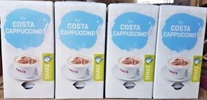 32 TASSIMO COSTA CAPPUCCINO MILK  T-DISC NEW IN  BOX
