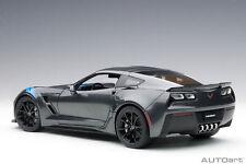 1:18 Autoart #71272 Chevrolet Corvette C7 Grand Sport (Watkins Glen Gris Metalli