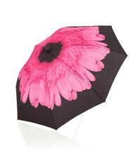 """2.5481 Anti-Nass-Taschenschirm mit Blütendruck """"pink"""""""