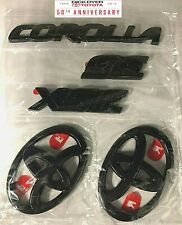 2020 TOYOTA COROLLA SE / XSE BLACK OUT EMBLEM OVERLAY KIT (00016-12181)