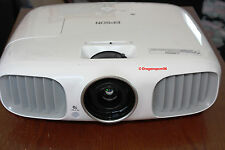 Epson PowerLite Home Cinema 3010e 3D Projector 1920x1080 with Belkin ScreenCast