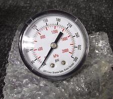 "2"" Test Pressure Gauge, 0 to 300 psi (M)"