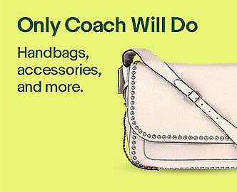 Only Coach Will Do | Handbags, accessories, and more.