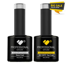 No Wipe Top and Base Coat VB™ Line * UV-LED soak off gel nail polish