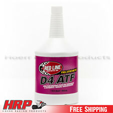 Red Line D4 Automatic Transmission Fluid ATF (1 Quart)  RED-30504