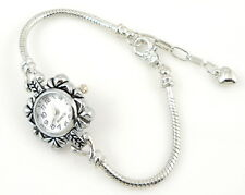1x Charm Watch Style Bracelet Fit European Bead 20cm WP12