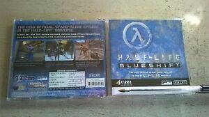HALF-LIFE 1 BLUESHIFT - STAND ALONE FPS SHOOTER PC GAME - ORIGINAL JC EDITION