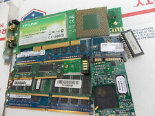 GOLD & Precious Metals RECOVERY Scrap Lot ii CPU RAM GOLD FINGERS More LOOK More