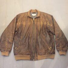 Filson heavy oiled tin cloth jacket wool lined XL