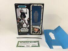 "Custom Vintage Star Wars 12"" Insertos + Caja soldado rebelde"