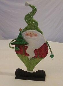 Vintage Christmas Santa decoration