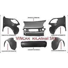 Kit parafanghi paraurti anteriore e posteriore Smart ForTwo 1998-2002