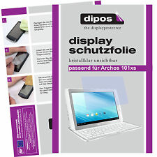 2x Archos 101xs screen protector protection guard crystal clear