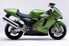 3 STAGE KAWASAKI TOUCH UP PAINT KIT ZRX1200R AND ZX12R CANDY LIME GREEN