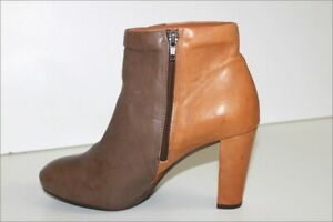 Atelier do sapato Boots Heels Leather bicolore T 39 Very Good Condition