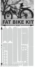 4 mil thick   FAT BIKE  FULL BIKE Frame PROTECTION KIT  by CRANKSKINS