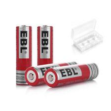 EBL 4x 3.7V 3000mA 18650 Li-ion Lithium-ion Rechargeable Batteries High Drain