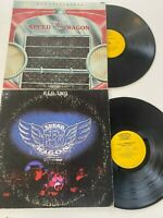 R.E.O. Speedwagon Lot of 2: TWO 1972, Self-Titled 1971