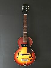 Vintage 1969 Gibson ES-125 3/4 Electric Guitar Sunburst Hardshell Case One Owner