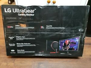 LG 24'' UltraGear FHD 144Hz 1ms Gaming Monitor (24GN50W-B) - BRAND NEW!
