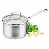 100% Genuine! SCANPAN Impact 18cm 2.5L Stainless Saucepan with Lid! RRP $115.00!