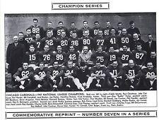 1947 Chicago Cardinals Nfl Champion Team Photo Parker