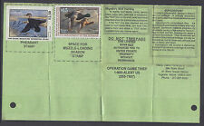US Sc RW66, Maine 16 on 1999 Maine Hunting & Fishing License