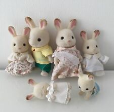 Vintage Sylvanian Families Rabbit Family