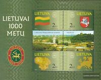 Litauen Block22 (kompl.Ausg.) postfrisch 2001 1000 Jahre Litauen