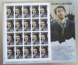 Legends of Hollywood Jimmy Stewart 41¢ USPS 20 Postage Stamps New 2006