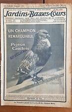 JARDINS ET BASSES COURS N°6. numéro du 20 Mai 1908. 1 ere année