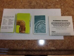 VINTAGE WATER WORKS GAME CARDS (110 CARDS) COMPLETE. WITH GAME INSTRUCTIONS