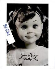 "June Foray ""Talky Tina"" The Twilight Zone Autographed Signed 8x10 Photo #3 COA"