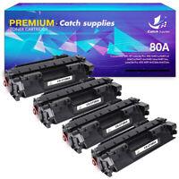 4PK Black Laser Printer Toner Cartridge for HP CF280X 80X 280X 400 M401n M425dw