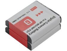 new 2pcs NP-FG1 NPFG1 Battery for DSC-W220 W230 W270 W290 W300 W35 W40 W85 W120