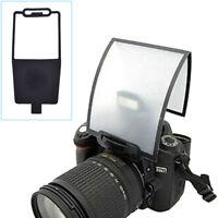 Universal Flash Speedlite Reflector Bounce Card Diffuser Camera Accessories