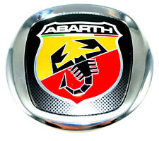 Fiat Grande Punto Abarth Front Grille Bonnet Badge Emblem New  Genuine 735495891