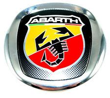 FIAT GRANDE PUNTO ABARTH GRIGLIA ANTERIORE COFANO Badge Emblema NUOVO ORIGINALE 735495891