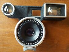Leica Summaron 35mm f2.8 Lens with Goggles in M Mount. Excellent shape. Has caps