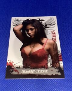 2010 Leaf MMA UFC #95 Arianny Celeste Sexy Ring Girl rookie card