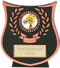 Emblems-Gifts Curve Bronze Kids Football Trophy With Free Engraving