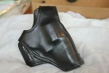 Vintage Smith And Wesson Black Leather Revolver Holster...not sure what it fits