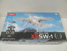 FPV Real Time X5SW-1 4 Channel Remote Control Quadcopter SYMA Black New