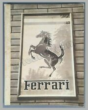 1951 Ferrari Yearbook factory original