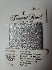 Rainbow Gallery Thread Petite Treasure Braid PB04 new cross stitch embroidery