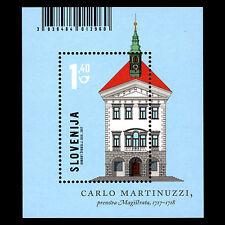 """Slovenia 2017 - Architecture in Slovenia """"Magistrat"""" - Sc 1212 MNH"""