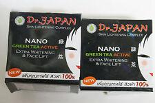 2 Dr.Japan NANO Green Tea Active Extra Whitening/ Face Lift Cream 10g./.35oz.
