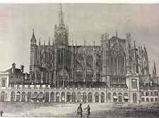 Cathédrale de Metz première moitié XIXe Moselle