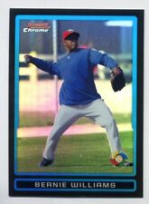 2009 Bowman Chrome BERNIE WILLIAMS Rare WBC PUERTO RICO REFRACTOR BDPW13 Yankees